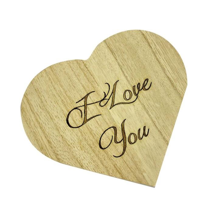 Dárkové předměty   dřevěná krabička srdce 6ab3c9eccc0