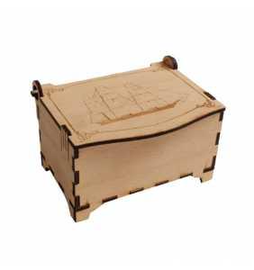 dřevěná krabička truhlička