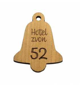 Klíčenka dřevo tvar dle Vašeho přání zvon