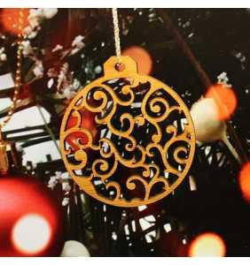 Vánoční ozdoba na stromeček baňka 2