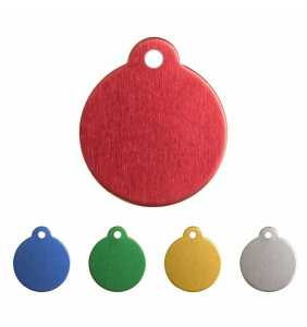 Psí známka - K24 KOLEČKO různé barvy